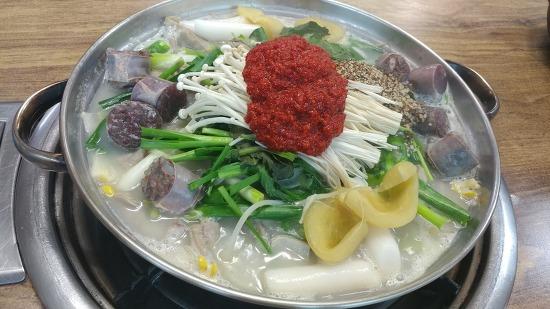 [문막맛집]24시간 영업하는 가보자 토종 순대국밥
