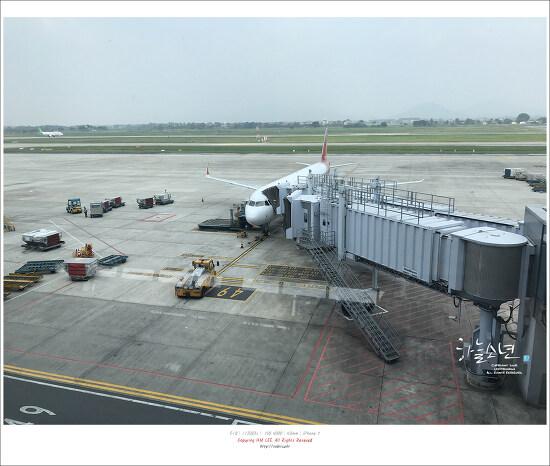 베트남 여행 - 아시아나항공 OZ728편 베트남 하노이 인천국제공항