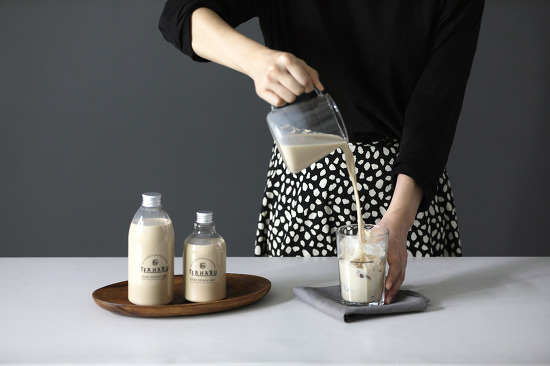 [대전 제품사진] 부드럽고 진한 밀크티, 티하루 제품촬영