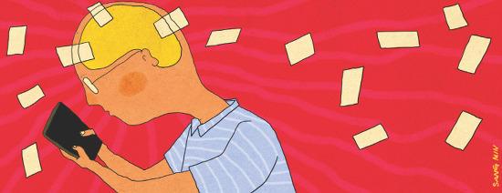 '생각을 빼앗긴 세계'의 디지털 치매