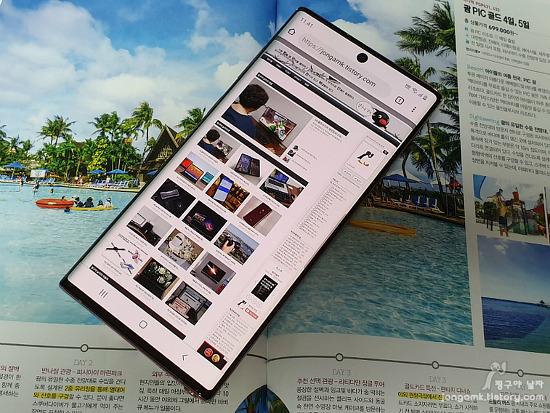 최신 스마트폰 갤럭시노트10과 갤럭시노트10 플러스 차이와 유플러스 5G 서비스 체험 후기