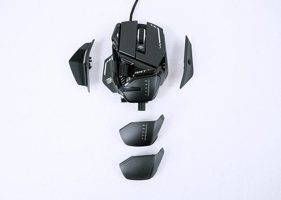 마우스 분해 어디까지 해봤니? 매드캣츠 R.A.T 8 플러스