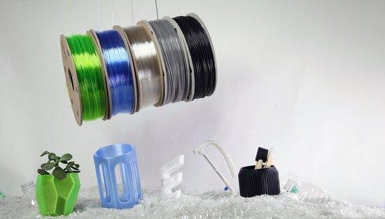 폐플라스틱 재활용한 친환경 3D 프린터 기술