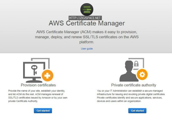 AWS Certificate Manaver(ACM)과 NLB를 이용한 예제