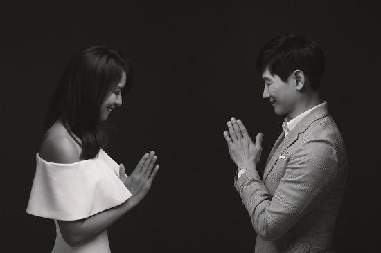 [대전 커플사진] 달달한 국제 커플의 셀프 웨딩 촬영