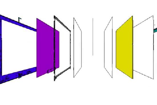 TV구조_많이 사용되는 일체형 구조입니다.
