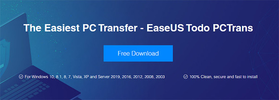 윈도우7 윈도우10 사용자 계정 프로그램 옮기기 EaseUS Todo PCTrans Free