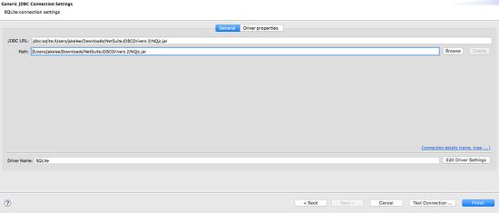 DBeaver를 활용하여 넷스윗 ODBC 서버에 접속하기