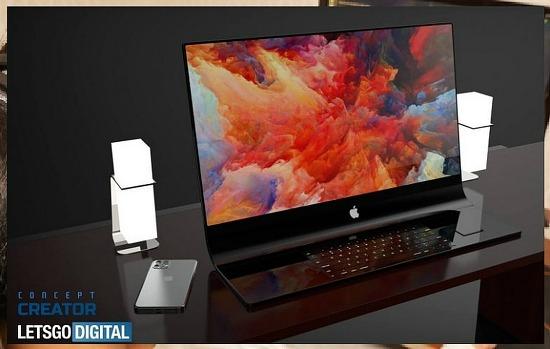 2021년 기대되는 아이맥 프로 데스크탑 글래스 컴퓨터!! 디자인을 보니 역시 애플답네