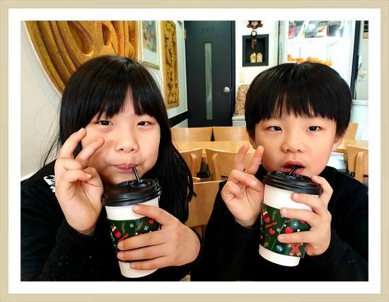 성탄 전날 아이들과 함께 #메리크리스마스 Merry Christmas #기쁜성탄 #teatime #familyday