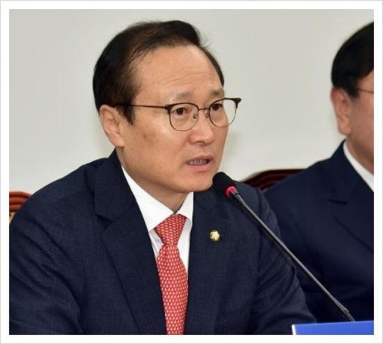 홍영표 원내대표 한국당 김성태 원내대표 고맙다