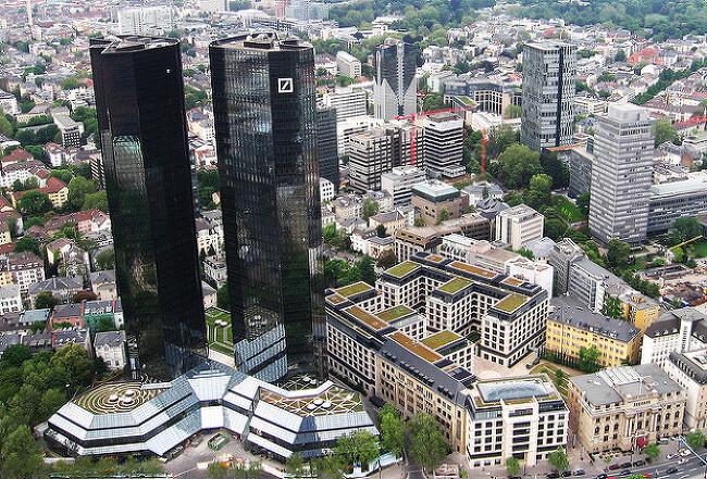 """도이치뱅크 AG(Deutsche Bank AG (literally """"German Bank""""; pronounced [ˈdɔʏtʃə ˈbaŋk])"""