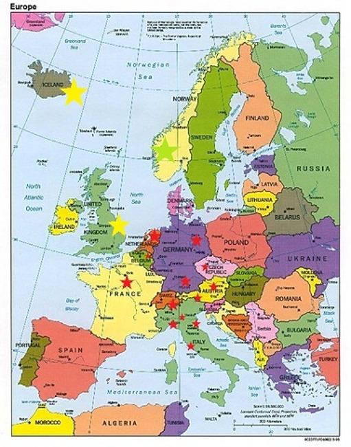 내 꿈은 유럽여행 입니다.