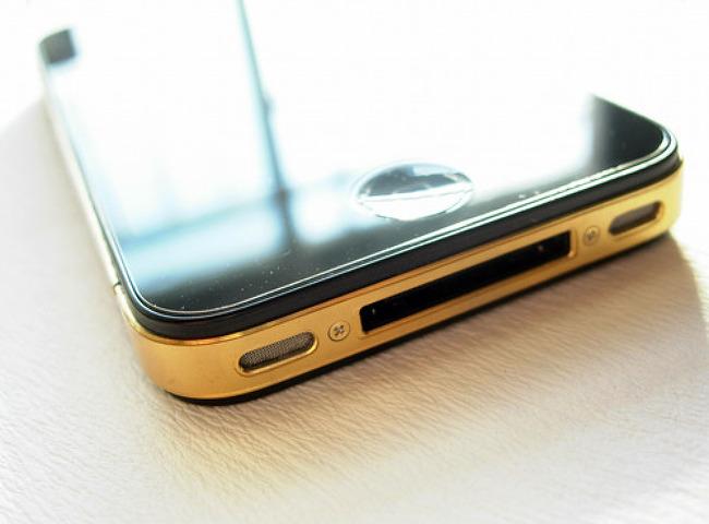아이폰4 도금
