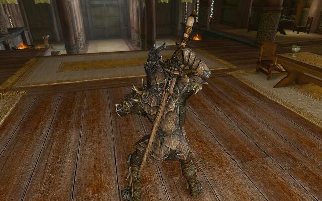 Skyrim Mod: Dragon Bone Weapon Pack v2