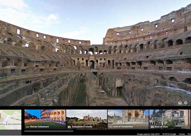 구글 지도를 통해 갈 수 있는 멋진 곳들