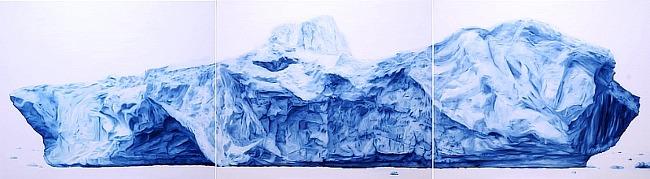 Iceberg 60,5 x 72 3개 연작 oil on canvas 2015