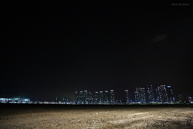 Night View of Songdo New City.2014