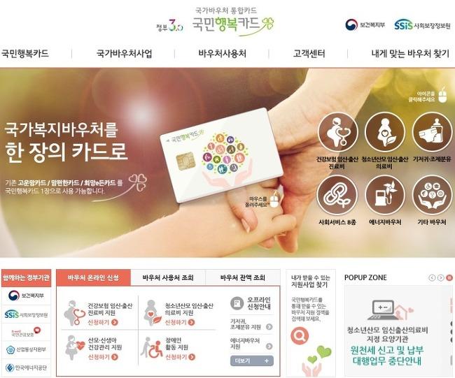[국민행복카드바우처] 국민행복카드 바우처, 등록을 해야 정부 지원금을 받을 수 있다!