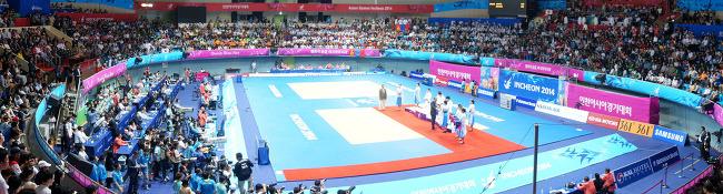 유도경기장  2014 인천아시안게임   Asian Games Incheon 2014