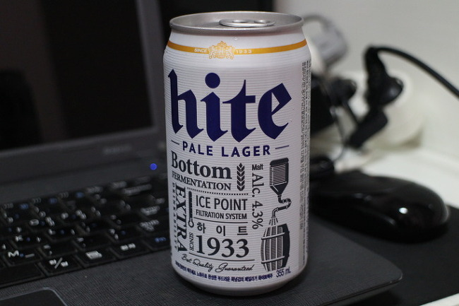 맥주 한 잔의 여유.