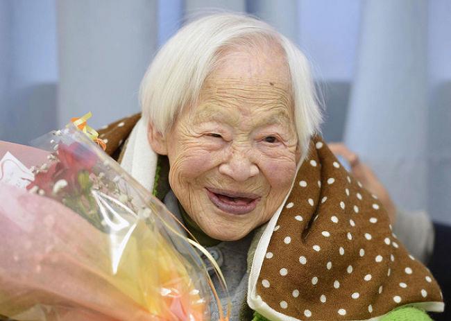 세상에서 가장 오래된 여인을 보다