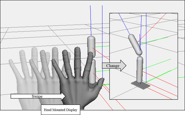 [Ongoing]Stick-Figure controller within HMD