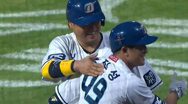 20.08.02. 진빠지는 루징 시리즈의 홈런 모음.gif