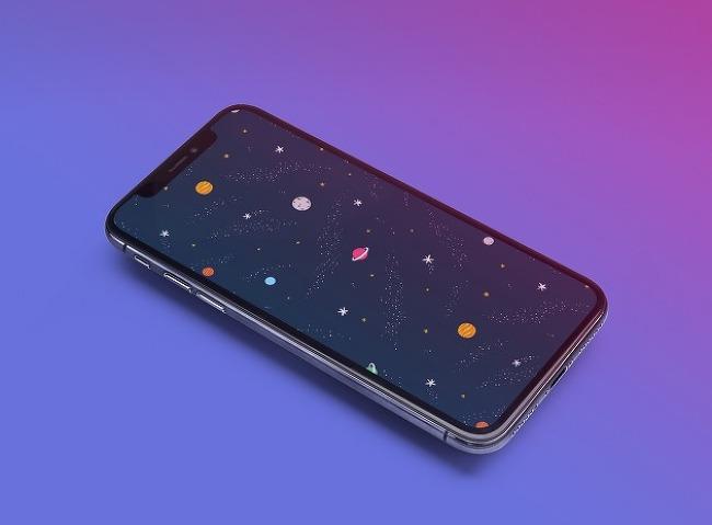 iDB 이번주 아이폰 배경화면 : 우주