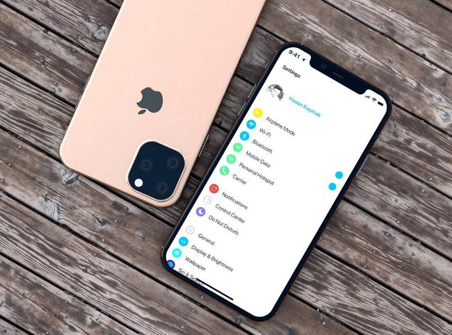 차세대 아이폰(2019) 바디 디자인 도면 유출. 그리고 렌더링 이미지.