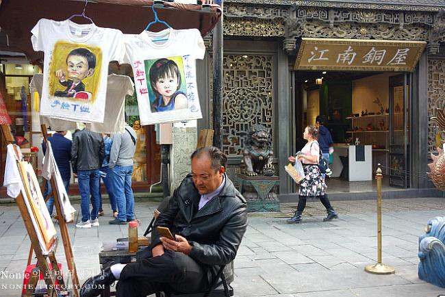 항저우의 쇼핑거리 허팡제와 식물원 산책 & 항저우 동역..