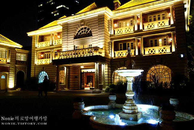 상하이의 1920년대에서 보내는 하룻밤, 인터컨티넨탈 루..