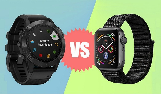 최신 스마트워치 가민 피닉스6 프로와 애플워치5 비교 후 선택해야 각각의 매력은 무엇일까?