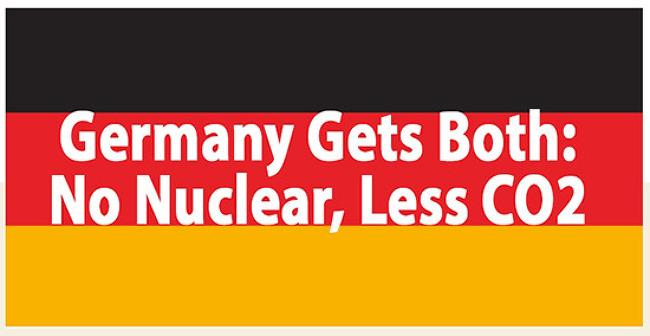 핵발전 없이 CO2 배출 감소한 독일
