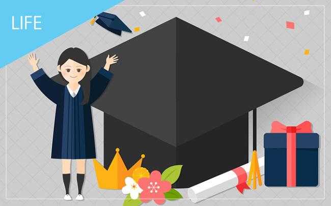인간화환, 졸업식 현수막… 센스 있는 대학교 졸업선물 추천