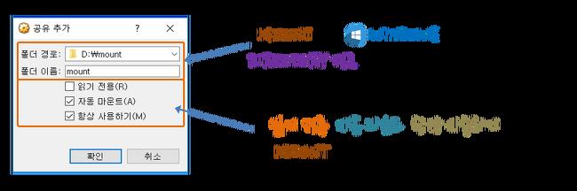 [Ubuntu] VirtualBox 공유 폴더 기능 사용하기