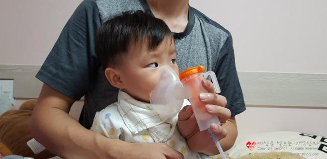 [30] 아기 후두염, 호흡곤란과 구토로 입원까지. 아기 입원 준비물 정리.