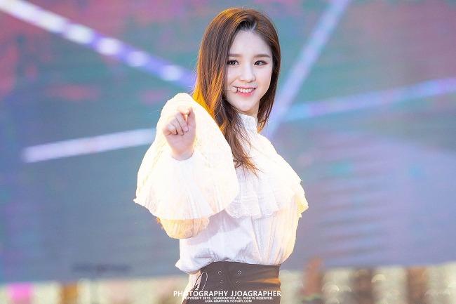 2019 양산 웅상 회야제, 축하공연 : 이달의 소녀 (LOOΠΔ), 희진 (HeeJin)