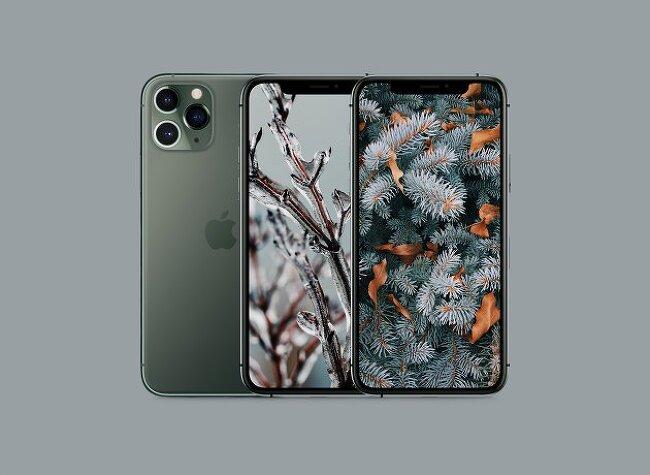 2019년 아이폰 겨울 배경화면 모음