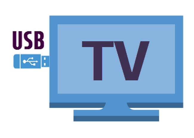TV로 USB에 있는 동영상 보기