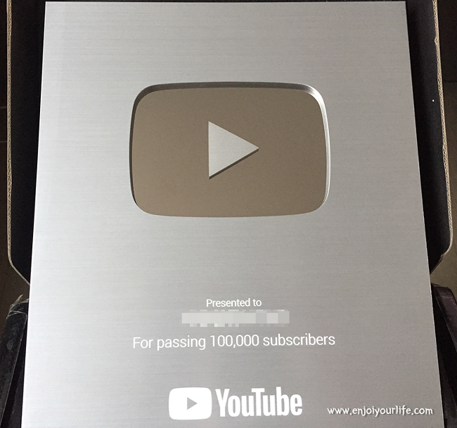▷ 유튜브 실버 버튼 수령 소회 (→ 5개월 만에 10만 구독자 달성 넋두리)