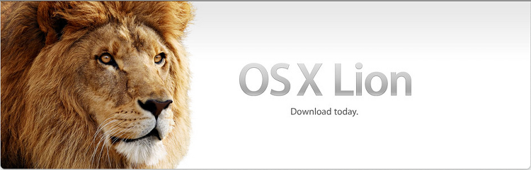 MAC OS X Lion 출시