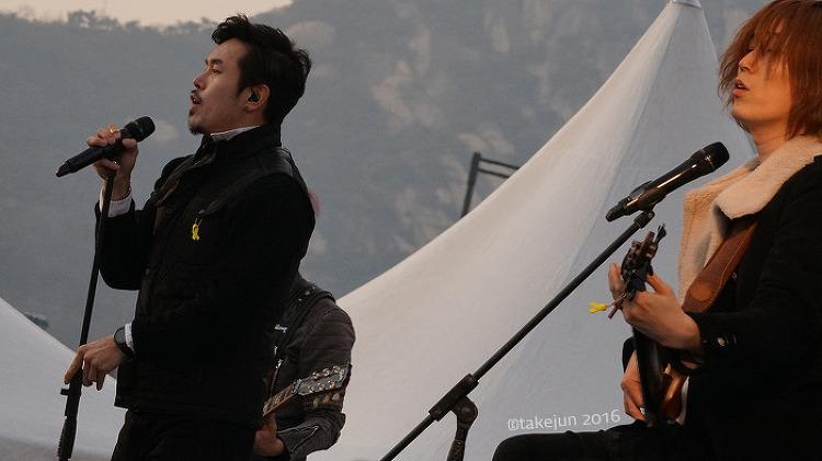 2016년12월3일 광화문 촛불시위 with N.EX.T