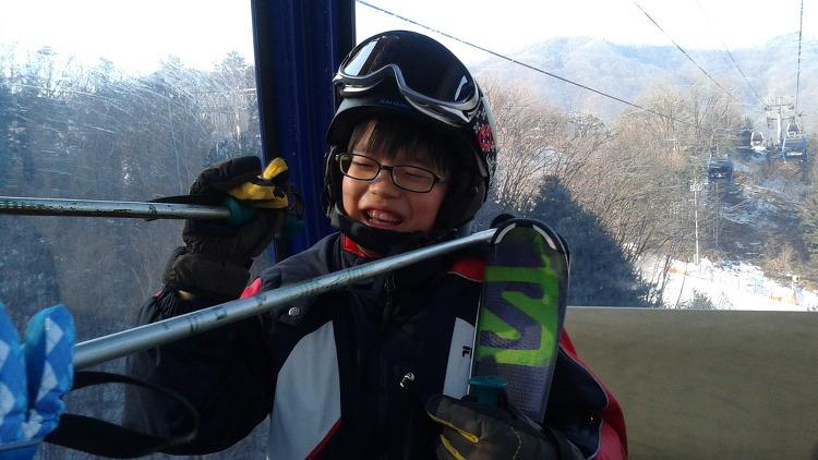 간만에 스키장..