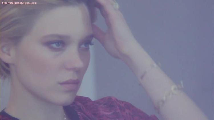 Lea Seydoux(레아 세이두) 디디에 두보(Didier Dubot) 2013 광고 촬영 스틸