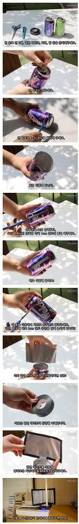 셀프 캔으로 와이파이 안테나 증폭기 만들기