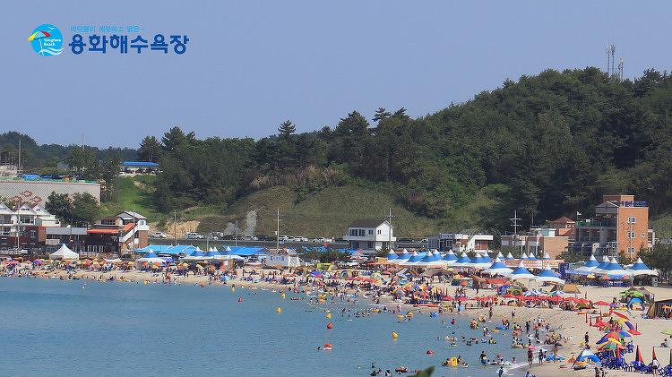 """아름다운 힐링 """"용화해수욕장"""""""