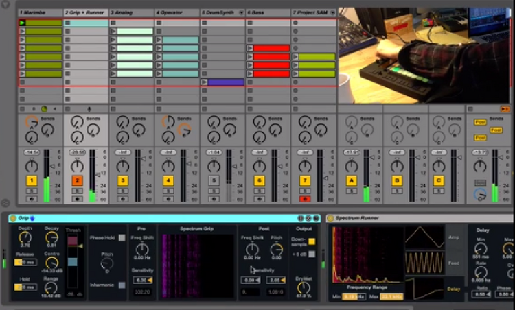 Ableton Live Packs Demo : Spectrum Effect..