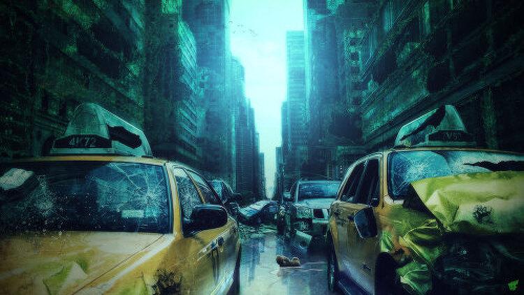 포토샵 스피드 아트 - 아포칼립스 (Apocalypse - Photoshop Speed Art)