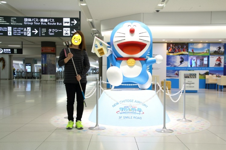 2014.10.02 신치토세 공항에서 삿포로에..